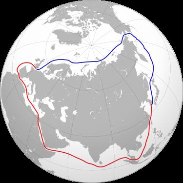 Az Oroszország - Japán közötti hajóút alternatívái